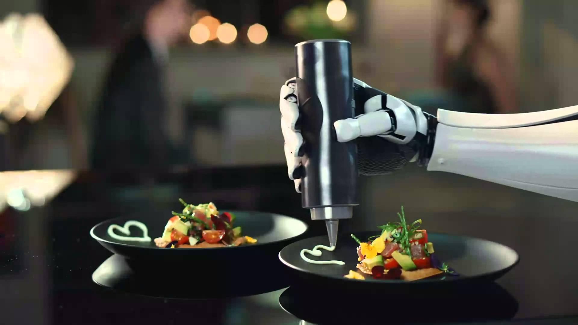 Robotic Food: los robots que nos darán de comer