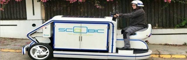 Scoobic, vehículo eléctrico llamado a solucionar los problemas de reparto en ciudad