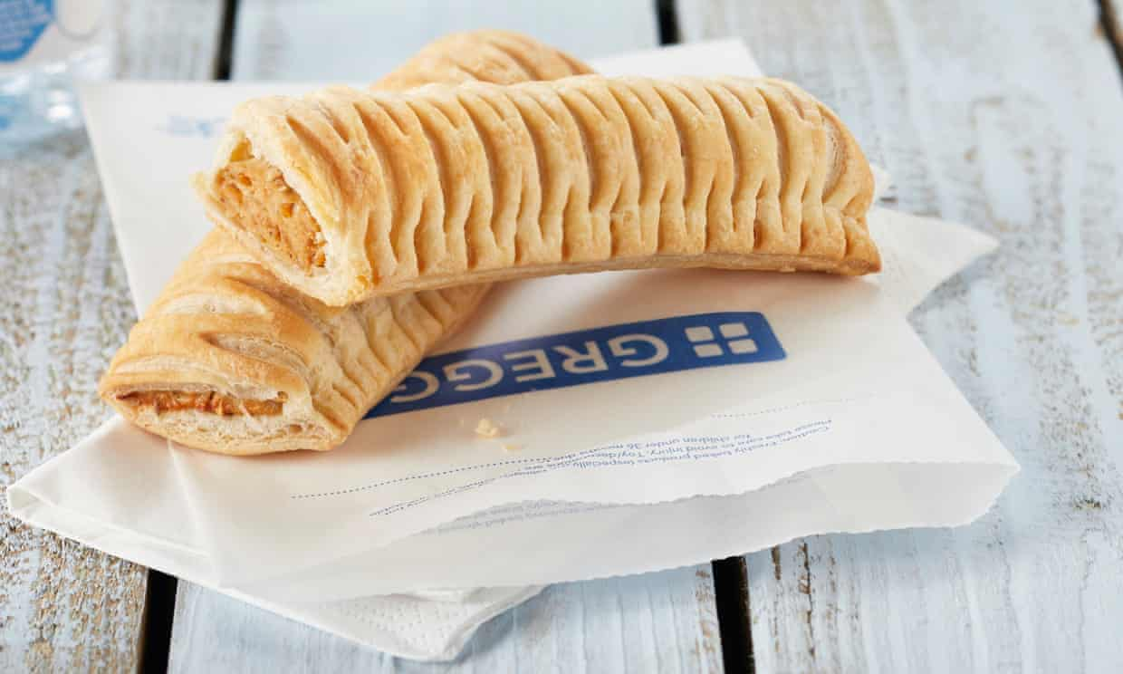 Greggs vegan saussage roll -techfoodmag