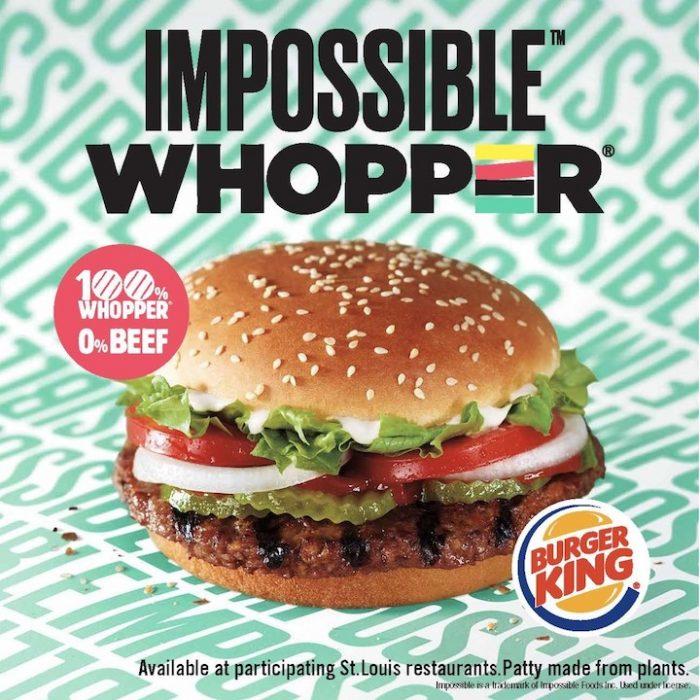 Impossible Whopper - Hamburguesa Vegana - Techfoodmag