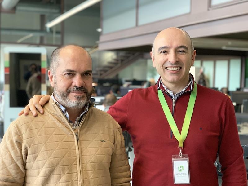 Fernando Sánchez y Juan Carlos, fundadores de WinDelivery