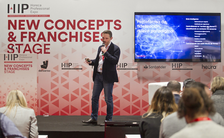 Carlos Gómez, CEO de Cheerfy, en HIP 2020