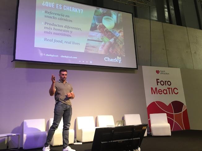 Carlos Camarero, fundador y CEO de Cherky Foods