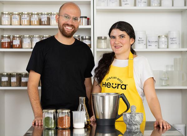 Marc Coloma, CEO y co-fundador de Heura_ Lorena Salcedo, Manager de Desarrollo de Nuevos Productos en Heura (1)