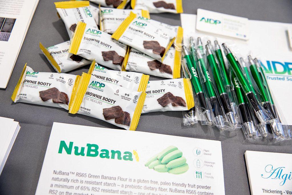 NuBana. Harina de banana con propiedades prebióticas. Future Food-Tech, New York.