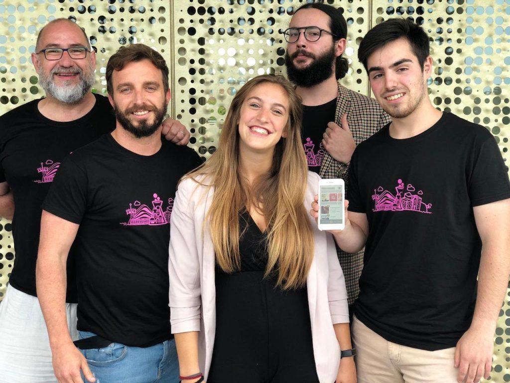 Equipo de TrustEat, ganadores del Primer San Sebastian Gastronomy Startup Weekend.  TechFood Magazine
